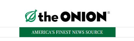 The Onion satire news website
