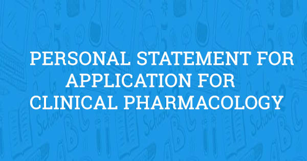 application for clinical pharmacology  example