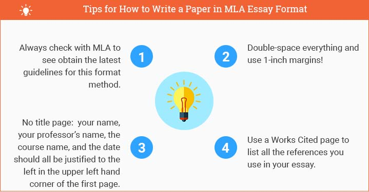 how to write a mla paper