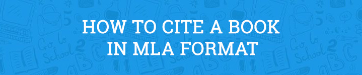 how to cite book mla format