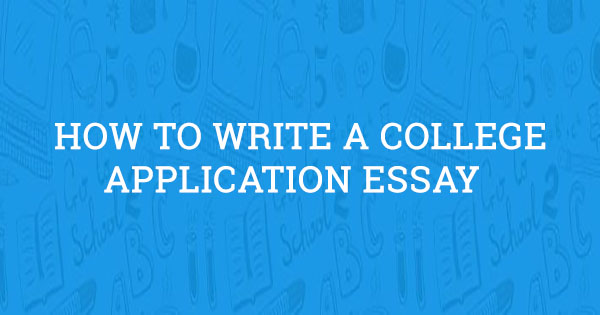college application essays 2018