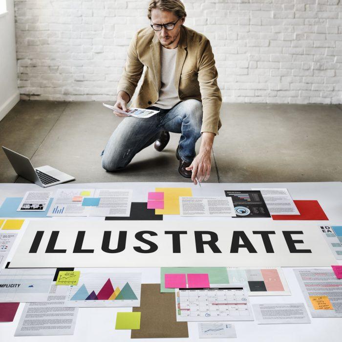 illustration essay outline