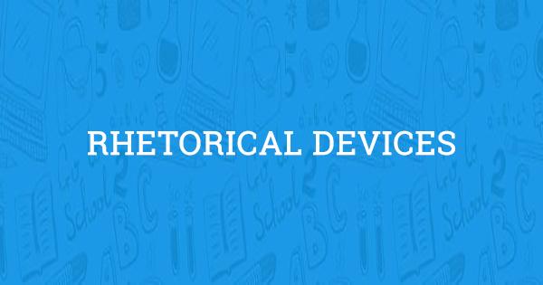 rhetorical tools
