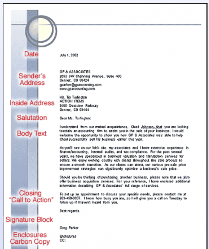 How To Write A Professional Letter (2020 Guide