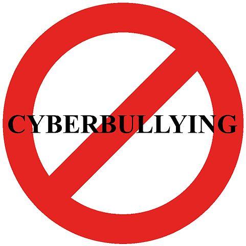 """""""no cyberbullying"""" warning sign"""